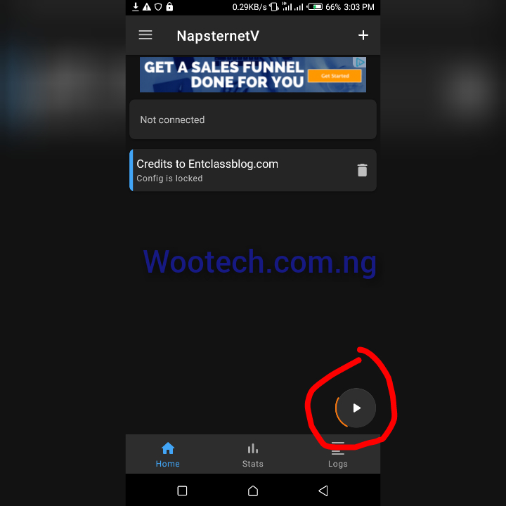 How To Activate 100mb Daily On Mtn Via Napsternet Vpn