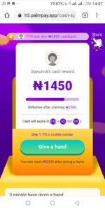 How To Earn N2000 Or More Daily On PalmPay Cash Spree