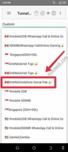 How To Activate Vodafone 500mb Social Plan Cheat On Tunnel Tweak Vpn